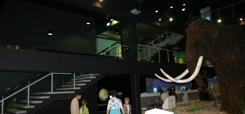 Jääaja keskuse arhitektuur ja sisearhitektuur